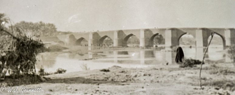 ancient bridge at Khanaqin