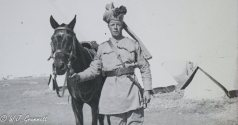 British Cavalryman and mount, Persian Front, Mesopotamia, 1917/18