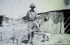 WJ Grummett, Persian Front, Mesopotamia, 1917/18