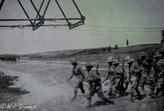 The Norfolk Regiment on the move, 1917/18, Persian Front, Mesopotamia