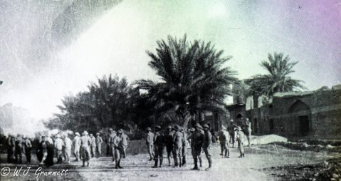 At Baqubah, Mesopotamia, 1917/18
