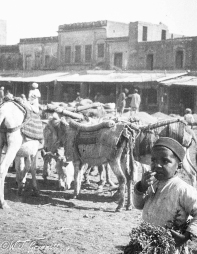 In the Bazaar at Ambala, 1916/17