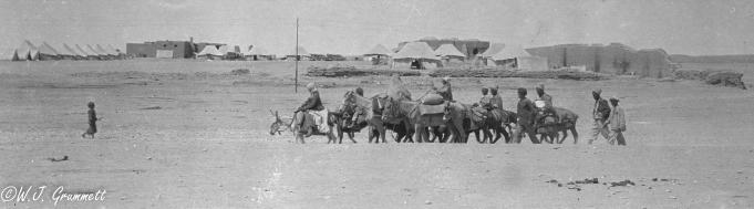 Refugees enroute to Baqubah, Mesopotamia, 1918