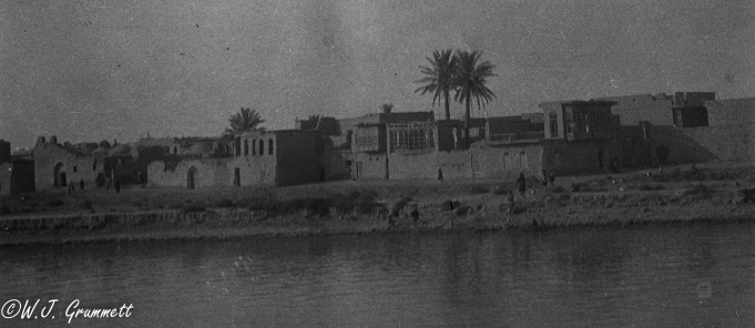 Baghdad on the Tigris, Mesopotamia, 1917.