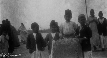 Young Princes of Baghdad, Mesopotamia, 1917.
