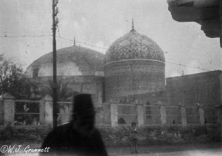 Mausoleum of Abdul-Qadir Gilani, Baghdad, Mesopotamia, 1917.