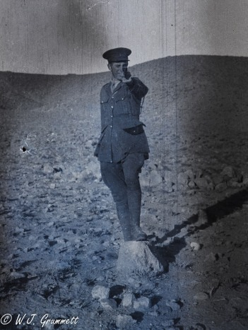 Lt. Boddy to the rescue?, Barrack Hill, Quetta, India, 1917