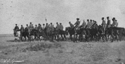Cossack of the Russian Imperial Army, Persian Front, Mesopotamia, 1918
