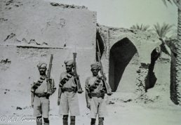 Soldiers of the 37th Brigade, Persian Front, Mesopotamia, 1917/18