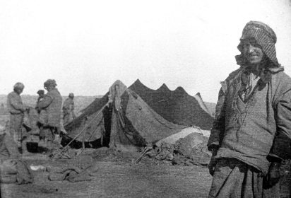 On the road to Baqubah, Mesopotamia, 1918