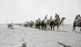 Refugees on the road to Baqubah